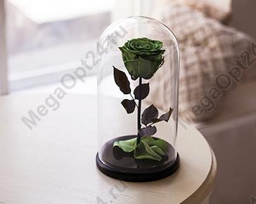 Роза в колбе Мини 13 см