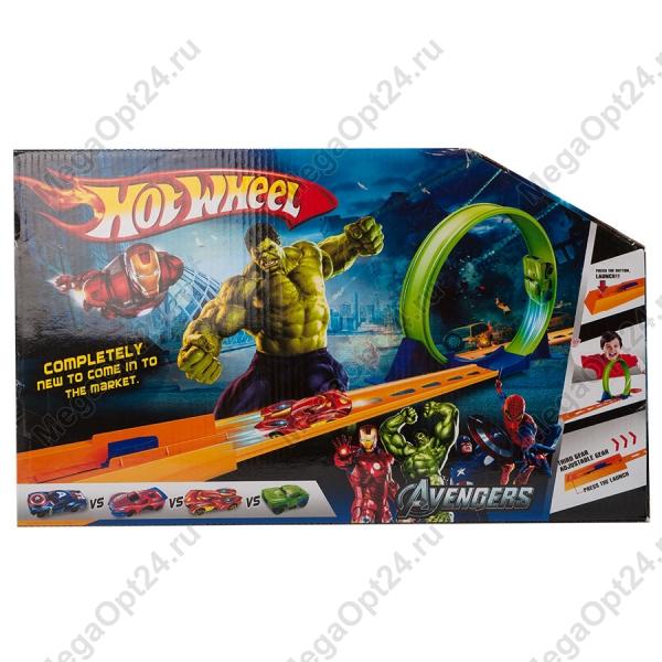 Гоночная трасса Hot Wheels Track Set Avengers оптом