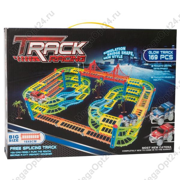 Трасса Track Racing  169 деталей оптом