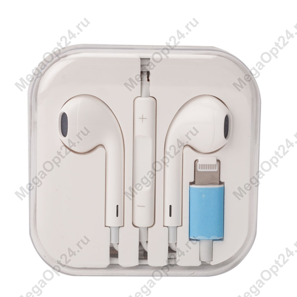 Наушники вкладыши с микрофоном Ear7+ оптом