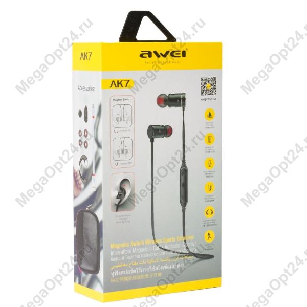 Беспроводные наушники Awei AK7 оптом