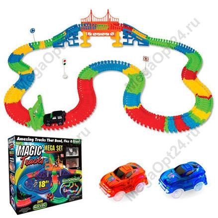 Трасса Magic Tracks Mega Set 360 с мостом оптом