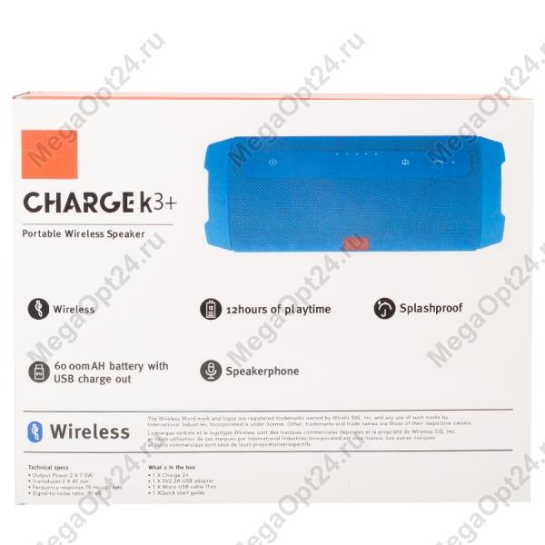 Портативная колонка Charge K3+ оптом