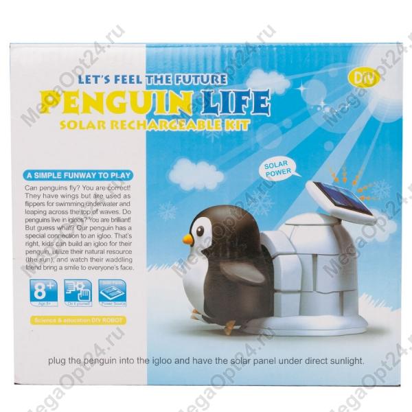 Конструктор на солнечных батареях Pinguin Life оптом