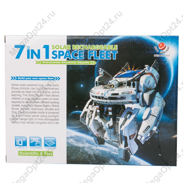 Конструктор на солнечных батареях Space Fleet оптом