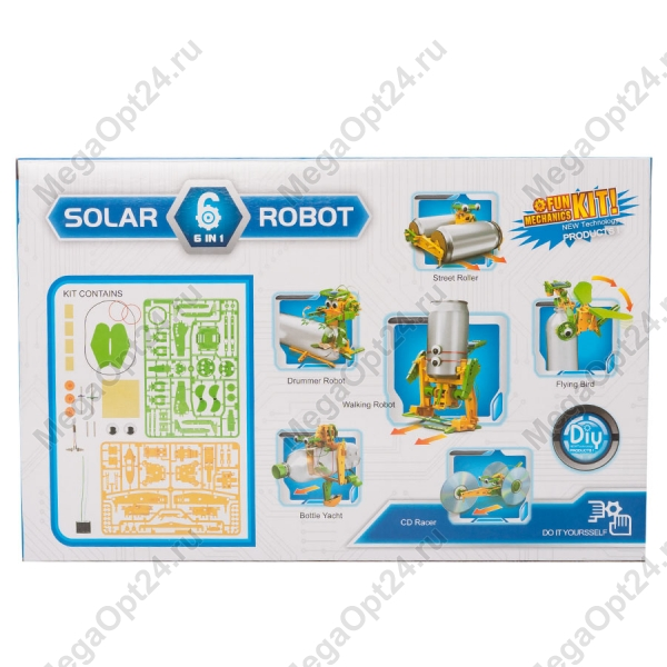 Конструктор на солнечных батареях Solar Robot оптом