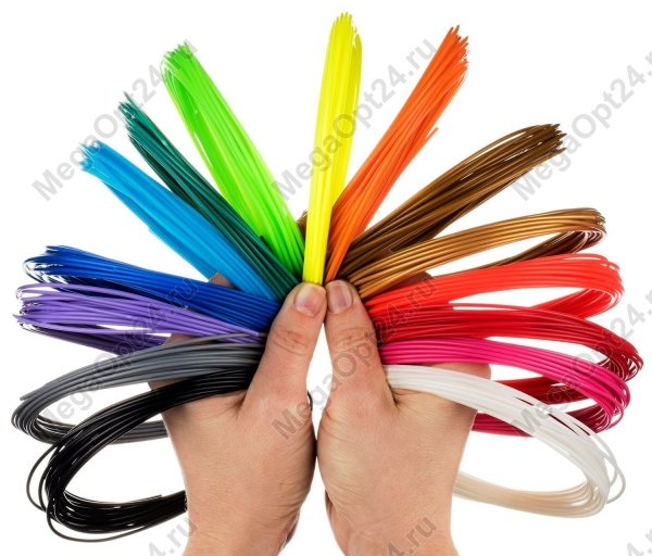 Пластик для 3d ручки оптом