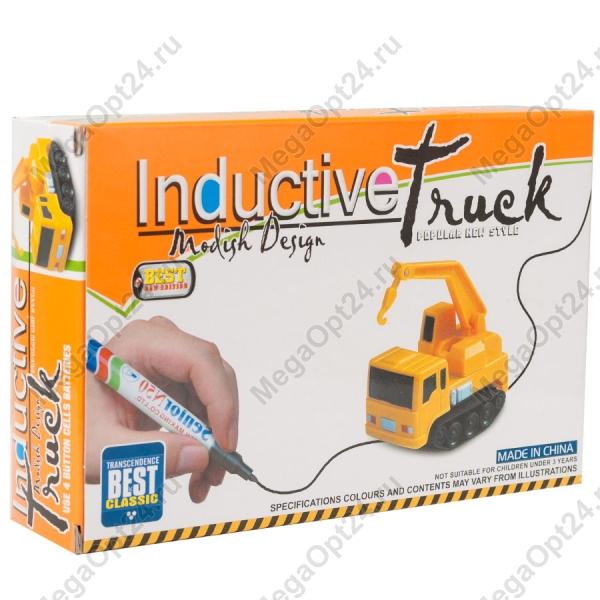 Индуктивная самодвижущаяся машинка  Inductive Truck оптом