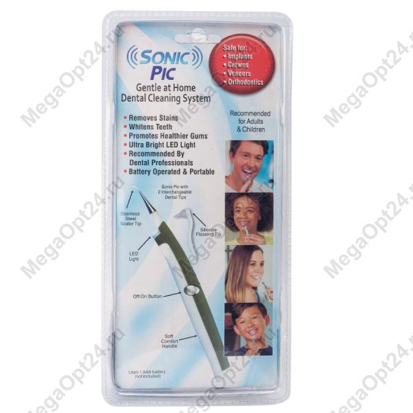 Очиститель зубов sonic pic dental cleaning system оптом