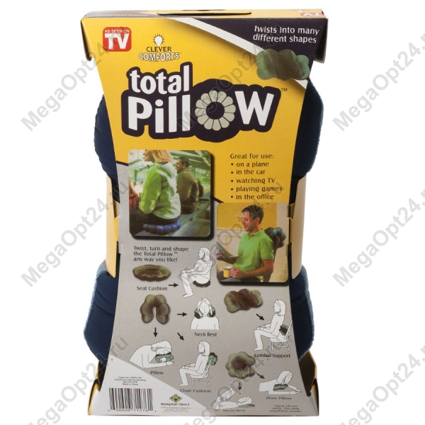 Подушка трансформер Total Pillow