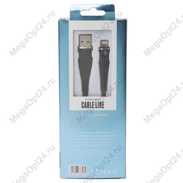 USB кабель BOUBLE BENT IPHONE