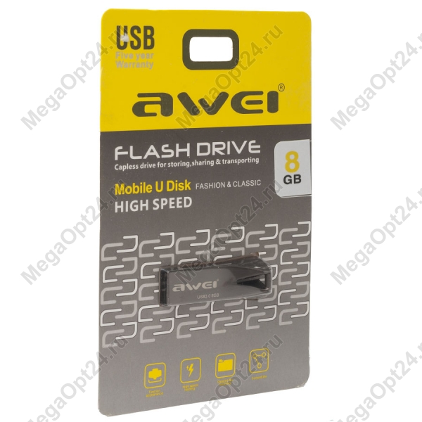 Флеш-накопитель Awei 8 Gb 3.0