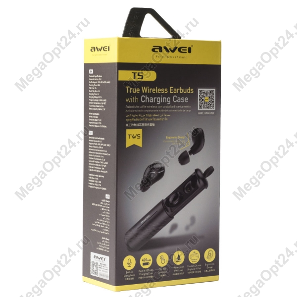 Беспроводные наушники Awei T5