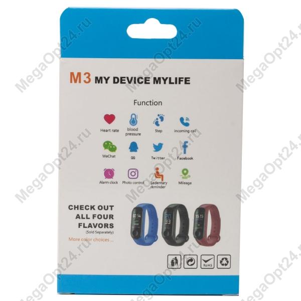 Фитнес-браслет My Device M3 Plus Smart