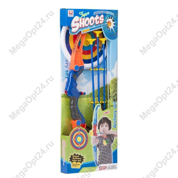 Набор Super Shoots Лук со стрелами и мишенью