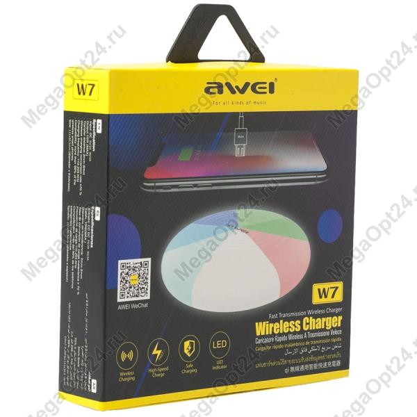 Беспроводное зарядное устройство Awei W7