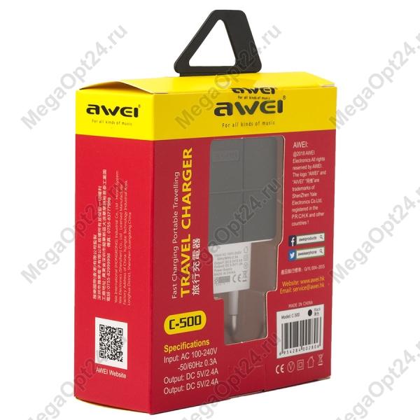 Многофункциональное зарядное устройство Awei С-500