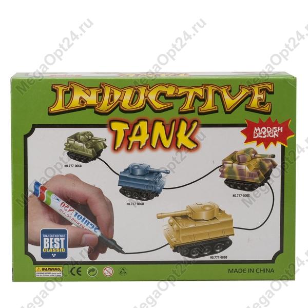 Индуктивная игрушка StreetGo Inductive Tank Gray