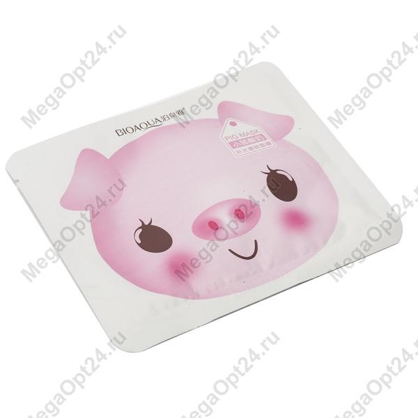 Маска для лица BIOAQUA PIG MILK REPLENISHMENT MASK оптом