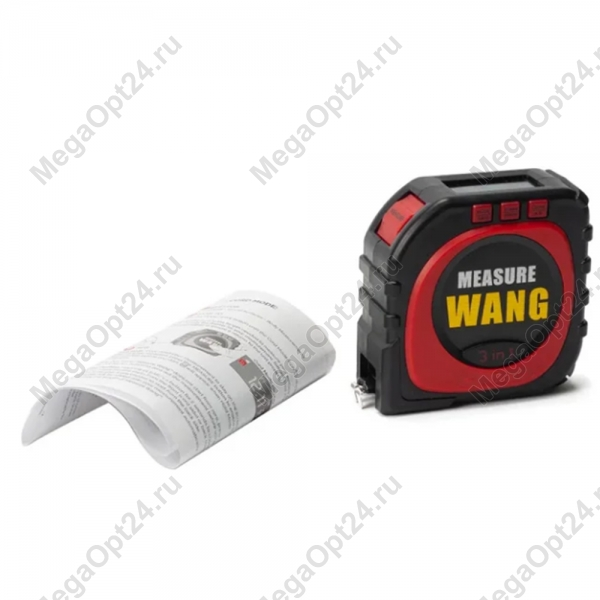 Рулетка Measure Wang 3 в 1 оптом