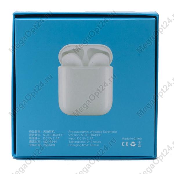 Беспроводные наушники I12 TWS 5.0 оптом