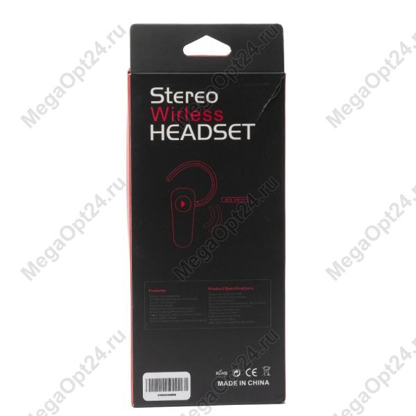 Мини Bluetooth гарнитура Stereo Wireless Headset оптом