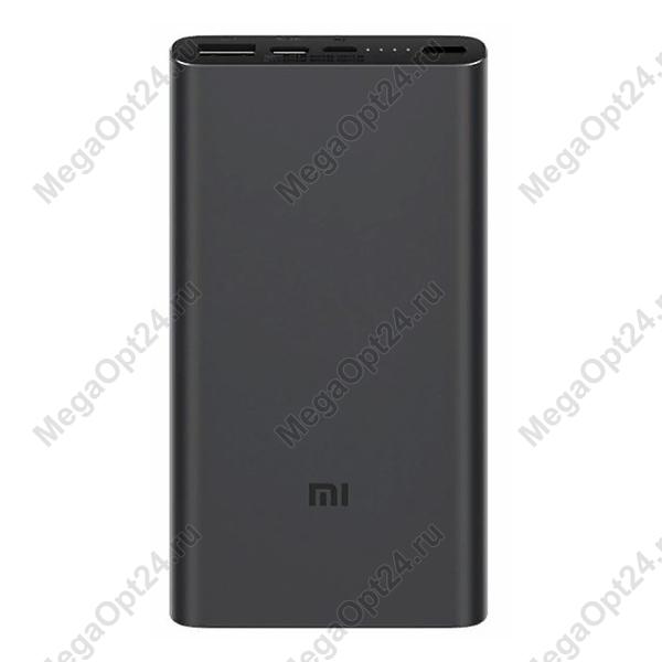 Внешний аккумулятор Xiaomi Mi Power Bank 3 10000 mAh Type-C Black оптом