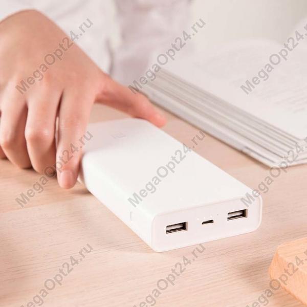 Внешний аккумулятор Xiaomi Mi Power Bank 2C 20000 mah оптом