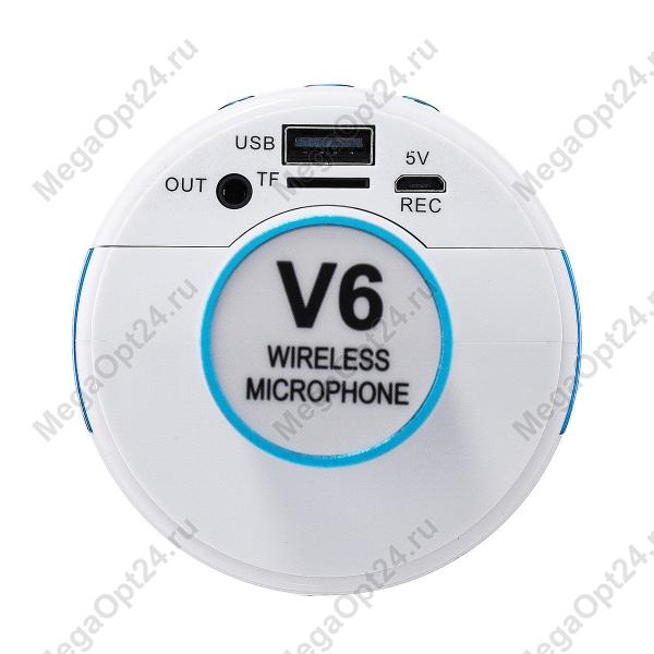 Микрофон-колонка V6 оптом