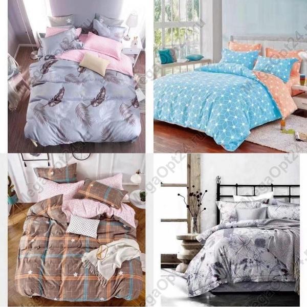Комплект постельного белья евро Mango Home Collection оптом