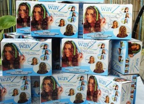 Волшебные Бигуди Hair Wavz