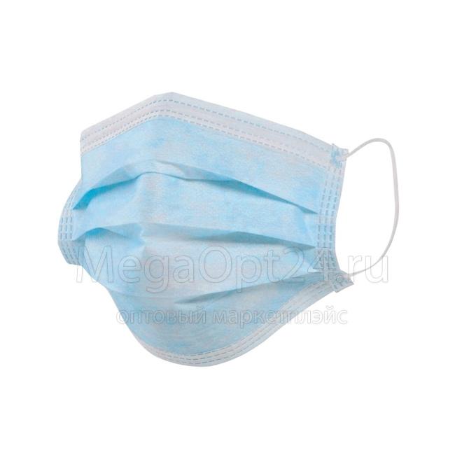 Трехслойная защитная маска оптом