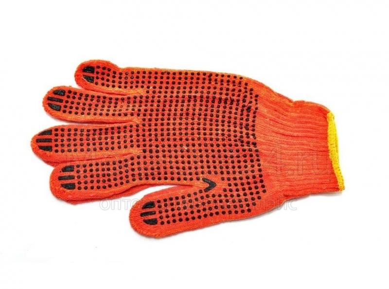 Х/б перчатки Стандарт вес пары 55-57 гр.