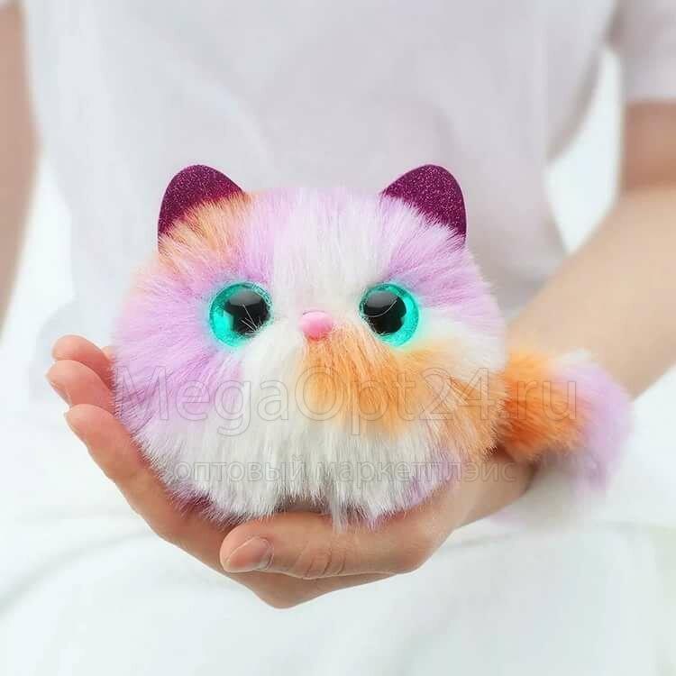 Интерактивный котёнок Pomsies