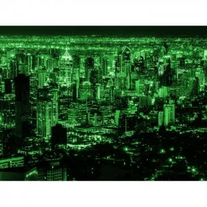 Светящаяся картина Мегаполис Люми-Зуми формата А3