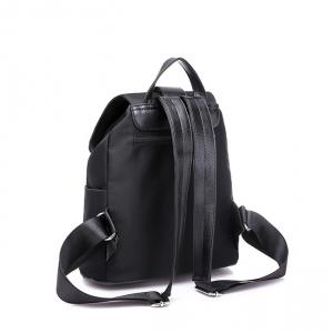6910-1 черн Рюкзак женский (32х27х14)