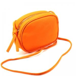 6616 оранж Сумка женская (19х14х5)