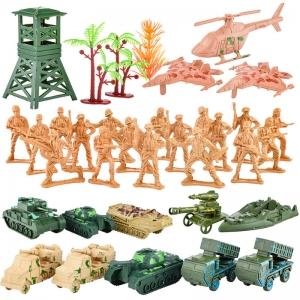 6288-B53 цветн Набор солдатиков в пакете