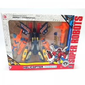 SD-151 син Робот-трансформер в коробке