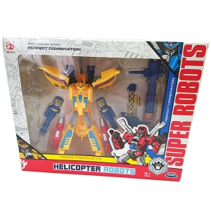 SD-151 желт Робот-трансформер в коробке
