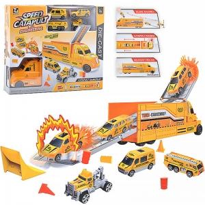 T067 желт Набор машин, в коробке