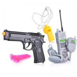 88670 сер Набор полиции (пистолет с пружинным механизмом) в пакете