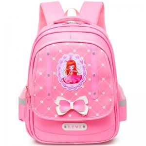 E117-3 роз Ранец для девочек (43х32х19)