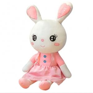 Мягкая игрушка обнимашка Зайчик Love 80 см