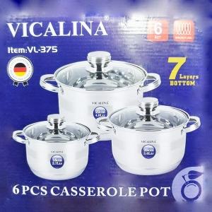 Набор кастрюль Vicalina VL-375 оптом