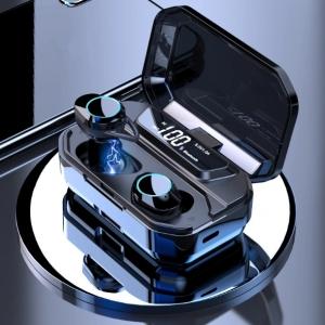 Беспроводные наушники 3 в 1  TWS IPX7 Bluetooth 5.0, фонарик, Power Bank