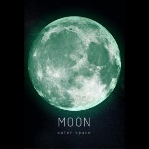 Люми-Зуми / Светящаяся картина Outer Space Космическое пространство Луна