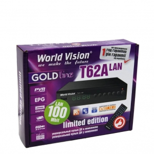 ТВ ПРИСТАВКА World Vision T62 Lan ОПТОМ