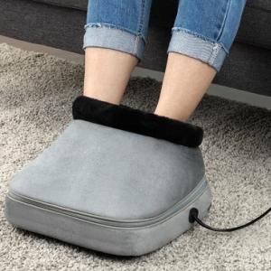 Массажная подушка - электрогрелка для ног 2 в 1