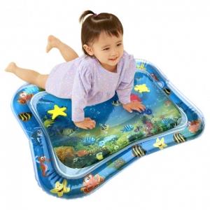 Детский развивающий водный коврик Аквариум.
